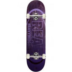 Real Heavyweights Purple Skateboard Complete - 8.38""