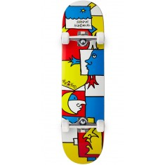 Krooked Ronnie Tableau Skateboard Complete - 8.06""
