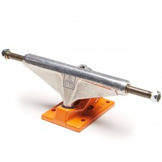 Venture Covert Icon Team Skateboard Trucks - Polished/Orange