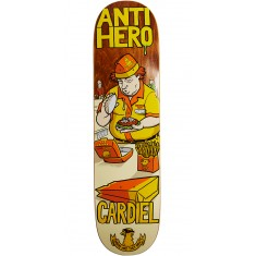 """Anti-Hero Cardiel Where Are They Now Skateboard Deck - 8.18"""""""