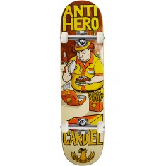 """Anti-Hero Cardiel Where Are They Now Skateboard Complete - 8.18"""""""