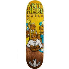 Anti-Hero Russo Where Are They At Skateboard Deck - 8.06""