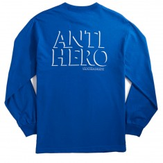 Anti-Hero Drophero Longsleeve T-Shirt - Royal