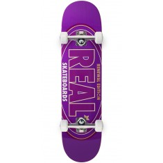 Real Oval Renewal Remix Skateboard Complete - Purple - 7.56""