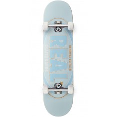 Real Oval Renewal Remix Skateboard Complete - Light Blue - 8.06""