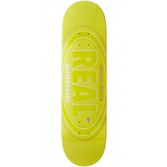 Real Oval Renewal Remix Skateboard Deck - Yellow - 8.50""