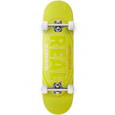 Real Oval Renewal Remix Skateboard Complete - Yellow - 8.50""