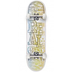"""Real Chima Holographic Lo-Pro II  Skateboard Complete - 8.25"""""""