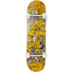 Krooked Sebo Show Off Eyes Skateboard Complete - 8.38""