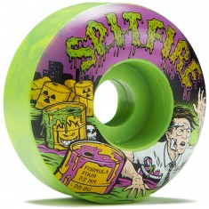 Spitfire Formula Four 99D Toxic Apocalypse Afterburners Skateboard Wheels - 52mm