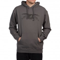 Anti Hero Basic Eagle Hoodie - Charcoal/Black