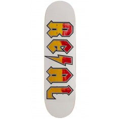 Real Deeds Skateboard Deck - Whiteout - 8.50""