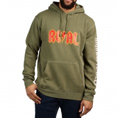 Real Highway 2 Hell Hoodie - Military Green