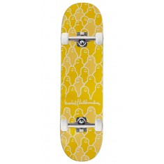 Krooked Krouded Pricepoint Yellow Skateboard Complete - 8.25""