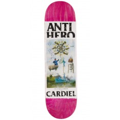 Anti-Hero Cardiel Four Pillars Of Obedience Skateboard Deck - 8.40""