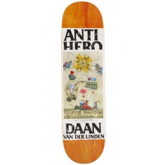 Anti-Hero Daan Four Pillars Of Obedience Skateboard Deck - 8.25""