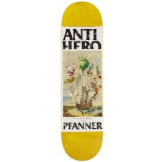 Anti-Hero Pfanner Four Pillars Of Obedience Skateboard Deck - 8.12""