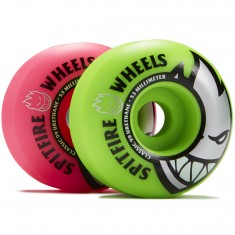 Spitfire Bighead Classic Mashup Skateboard Wheels - Pink/Green - 53mm