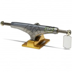 Thunder 24K Sonora Lights Skateboard Truck - Pewter/Gold - 147mm