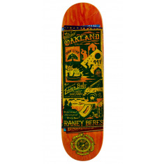 """Anti-Hero Beres Maps to the Skaters Homes Skateboard Deck - 8.50"""""""