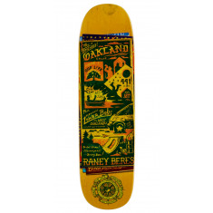 """Anti-Hero Beres Maps to the Skaters Homes Skateboard Deck - 8.63"""""""