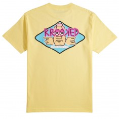 Krooked Arketype Dude T-Shirt - Banana