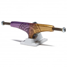 Thunder Team Strike Fade Skateboard Trucks - Purple/Gold