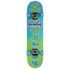 """Krooked Birdical Fades Small Pre Built Skateboard Complete - 7.50"""""""
