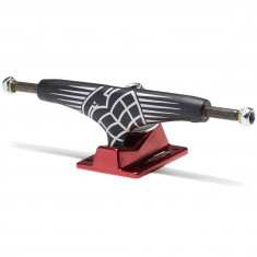 Thunder Sonora Hollow Lights Skateboard Trucks - Black/Red