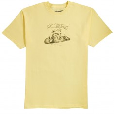 4dd25249 Anti-Hero Best Friend T-Shirt - Banana/Army Green