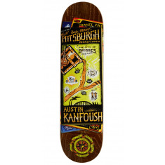 32916816 Anti-Hero Kanfoush Maps To Skaters Homes II Skateboard Deck - 8.28