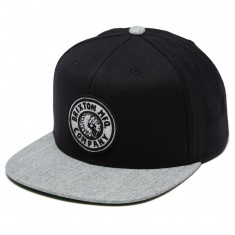 Brixton Rival Hat - Black/Heather Grey