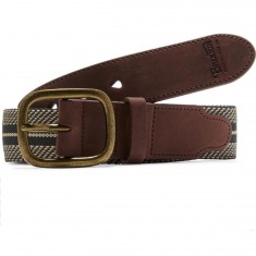 Brixton Course Belt - Cream/Brown