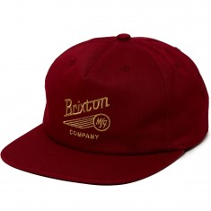 Brixton Maverick Hat - Burgundy
