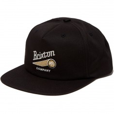 Brixton Maverick Hat - Black/Gold