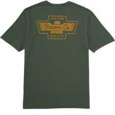 Brixton Federal T-Shirt - Chive
