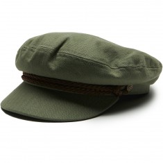 Brixton Fiddler Hat - Light Olive/Brown