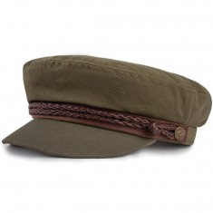 Brixton Fiddler Cap - Light Olive/Olive - LG