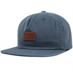 Brixton Grade II Unstructured Snapback Hat - Grey Blue