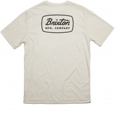 Brixton Jolt Premium T-Shirt - Off White/Black