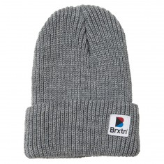 Brixton Stowell Beanie - Light Heather Grey