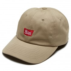Brixton Stith Hat - Khaki/Red