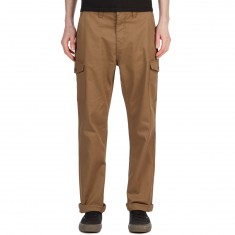 Brixton Fleet Cargo Pants - Dark Khaki
