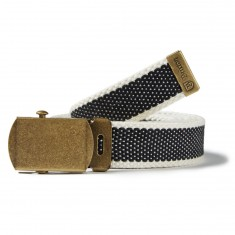 Brixton Edwards Belt - Black/Cream