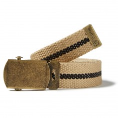 Brixton Edwards Belt - Khaki/Black