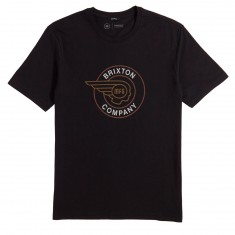 Brixton Mercury T-Shirt - Black