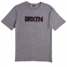 Brixton Edison T-Shirt - Heather Grey