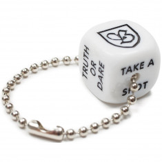 Brixton Bar Dice Set - White