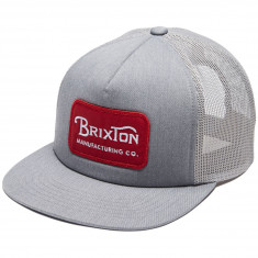 Brixton Grade Mesh Hat - Heather Grey