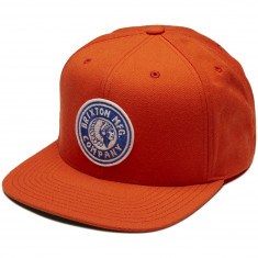 Brixton Rival Snapback Hat - Orange